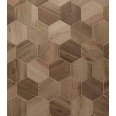 Esagona King Nut 9.6X11.08 Porcelain Tile | TileBar.com.