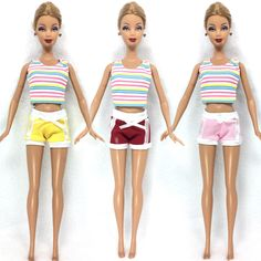 NK One Set  Doll Clothing Fashionable outfits Casual Pants Suits For Barbie Doll Best Gift Baby Toy Doll Accessories Child Toy #>=#>=#>=#>=#> Click on the pin to check out discount price, color, size, shipping, etc. Save and like it!