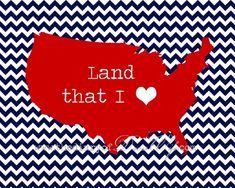 the Diary of DavesWife: Free Patriotic Printables, july I Love America, God Bless America, America America, Favorite Holiday, Holiday Fun, Holiday Ideas, Holiday Decorations, Holiday Signs, Patriotic Decorations