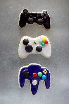 Controller Cookies...probably look a lot better than they actually taste
