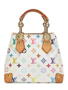 White Monogram Multicolore Audra from Vintage Louis Vuitton: Madison Avenue Couture on Gilt
