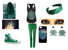 """""""OOTD"""" by kinvesandpens ❤ liked on Polyvore featuring Converse"""
