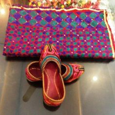 SZ 8,9,10,11 LEATHER BOLLYWOOD BEADED JUTTI SLIPPER SHOES KHUSSA MOJRI EMBROIDED