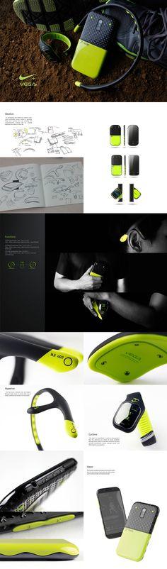NIKE VEGA on Behance smart watches - http://amzn.to/2ifqI9j
