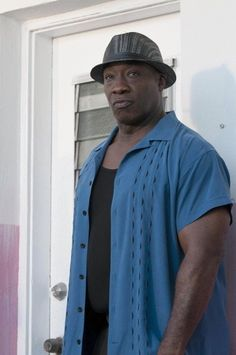 "Michael Clarke Duncan as Leo Knox from Fox's ""The Finder"""