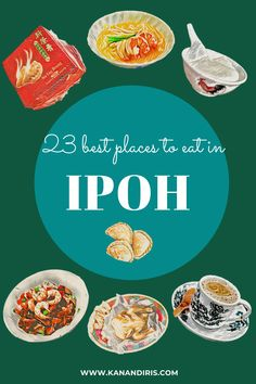 Ipoh Food: The Local's Guide to 23 of the Best Places to Eat in Ipoh - Kan & Iris Ipoh Food, World's Best Food, Malaysia Travel, Chinese Herbs, Flaky Pastry, Best Street Food, Seafood Restaurant, Best Places To Eat, Dim Sum