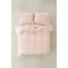 Willow Fringe Duvet Cover ($119) ❤ liked on Polyvore featuring home, bed & bath, bedding, duvet covers, king size bedding, stripe bedding, king bed linens, king bedding and twin xl duvet insert