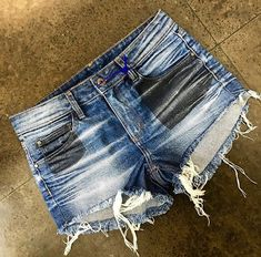 Jean Shorts, Denim Jeans, Vintage Shorts, Indigo, Women, Fashion, Moda Masculina, Templates, Men Casual