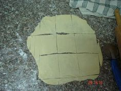 Make your own egg-roll wrappers... I use egg-roll wrappers all the time... can't wait to try this