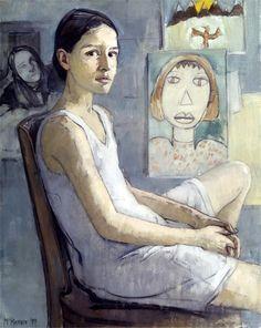Por amor al arte: Mary Beth McKenzie Painting People, Figure Painting, Painting & Drawing, Portrait Art, Portraits, Portrait Paintings, Painting Inspiration, Art Inspo, Paintings Famous