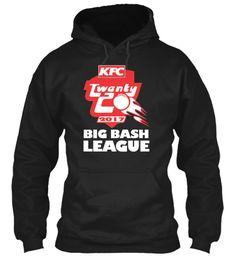 T20 Big Bash 2017 Hoodies Ltd Edition Black Sweatshirt Front