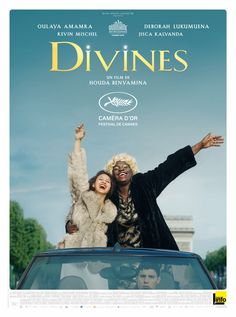 """Drama - French movie """"Divines"""" on Netflix. A fabulous story of two teenagers in the suburbs of Paris. 10 Film, Cinema Film, Film Serie, Scary Movies, Good Movies, 2016 Movies, Film Pictures, French Movies, Books"""