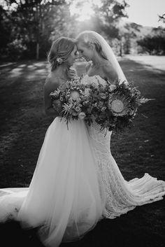 Robyn and Whitney's Yandina Station Wedding, Sunshine Coast   Bonnie Jenkins
