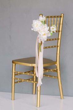 Something Borrowed Blooms Audrey Collection Wedding Flower Arrangements, Wedding Flowers, Aisle Markers, Something Borrowed, White Peonies, Wishbone Chair, Wedding Beauty, Budget Wedding, The Borrowers