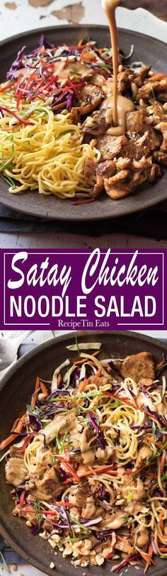 I am officially obsessed!!! The peanut satay dressing is INCREDIBLE!