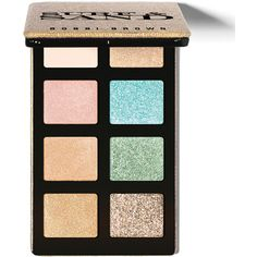 Bobbi Brown LIMITED EDITION Sand and Surf Eye Palette ($65) ❤ liked on Polyvore featuring beauty products, makeup, brown, shimmer makeup, beach makeup, brown makeup, palette makeup and bobbi brown cosmetics