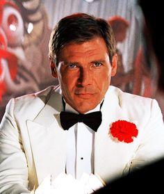 Harrison Ford in Indiana Jones & the Temple Of Doom #dapper Oh Dr Jones