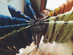 Woolcrush's beautiful naturally dyed fibers. This Missouri resident is an up and comer in the natural dye world.