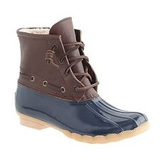 Women's Sperry Top-Sider® for J.Crew saltwater boots