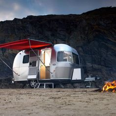 caravan, beach, family. What more could you want