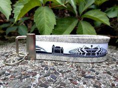 Schlüsselanhänger Bochum von Patchwork auf DaWanda.com