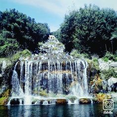 waterfall - La cascata della reggia di Caserta