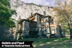 Join us on a quick tour of Yosemite National Park hotels and food options, including a detailed look at historical Ahwahnee Hotel.