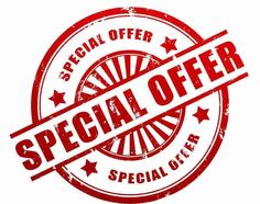 Check our web site for SPECIALS!!