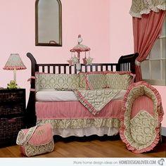 Versailles Pink Green Room