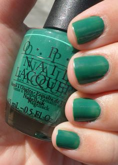 Jade Is The New Black... Hello new fave OPI color!