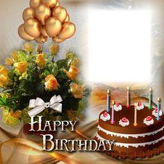 Birthday Card Gif, Happy Birthday Cake Photo, Happy Birthday Frame, Happy Birthday Wishes Cards, Birthday Frames, Happy Birthday Images, Birthday Board, Birthday Photos, Advance Happy Birthday