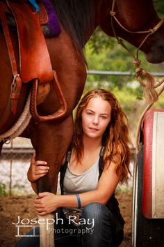 Senior + Horses