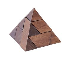 Wooden Pyramid Puzzle - Jaques of London                                                                                                                                                                                 More