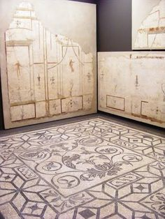 Museo Nationale Romano - Palazzo Massimo alle Terme - Mosaic and mural frescos