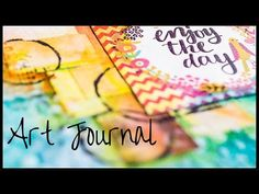 Art Journal Page: June - Faber-Castell Big Brush Pen - YouTube