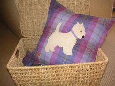 Dog Cushion by Calluna Designs