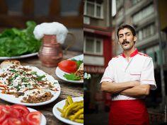 Murat Kaçmaz. Chef of Kadikoy Tantuni