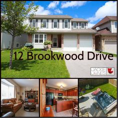 *NEW LISTING* 12 Brookwood Dr, $389,900 Sought out neighbourhood and walking distance to top rated school. This bright 4 bedroom home has a great layout and is perfect for entertaining. Double car garage w/inside entry, ceramic and hardwood floors, c/vac,