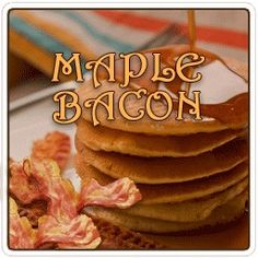 Wake up your morning with our Maple Bacon flavored coffee. Only 2 Calories per cup. A top selling flavor. http://www.veggiesensations.com/products/maple-bacon-flavored-coffee