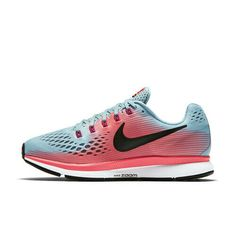 cheap for discount 49b92 ffa4f Nike Women s Air Zoom Pegasus 34 - Mica Blue White Racer Pink (880560