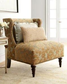Beautiful Upholstered Wingback <3