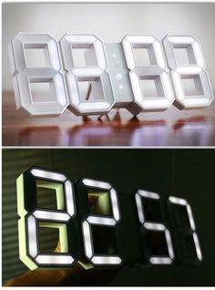 Futuristic Digital Clock