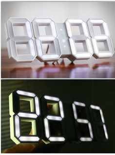 Futuristic Digital Clock