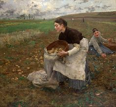 Jules Bastien-Lepage - October, 1878 - Professional Artist is the foremost business magazine for visual artists. Visit ProfessionalArtistMag.com.- www.professionalartistmag.com