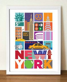 Hey, I found this really awesome Etsy listing at https://www.etsy.com/listing/168345766/new-york-city-poster-retro-poster-117-x