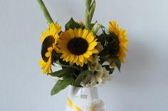 TIZIANO Design Sonnenblumen Vase Riana