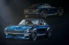 OEM* Datsun 240z 260z 280z Stock Blue Oil Filter 1970-1978 *NEW