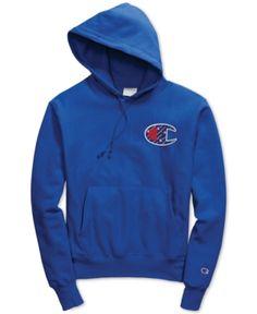 a18efde29714 Champion Men's Reverse Weave Logo Hoodie & Reviews - Hoodies & Sweatshirts  - Men - Macy's