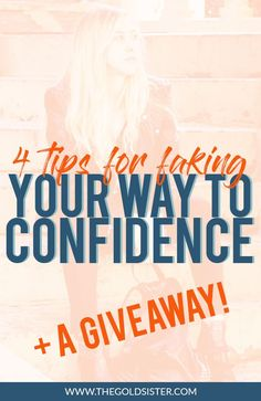 4 tips on how you can build up your confidence and become a stronger, more self-assured person, AND a #giveaway to help you get there! Click through to read and enter!
