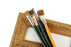 LoveToKnow: Advice you can trust Picture Frame Crafts, Picture Frames, General Crafts, Love Craft, Frame It, Mirrors, Miniatures, Daughter, Diy Projects